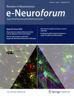 e-Neuroforum publishes review articles covering a wide range of topics in neuroscience